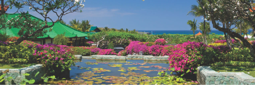 The Grand Hyatt in Bali is a terrific Category 3 property, but if revenue rates are low, you're better off booking a room directly with Ultimate Rewards.