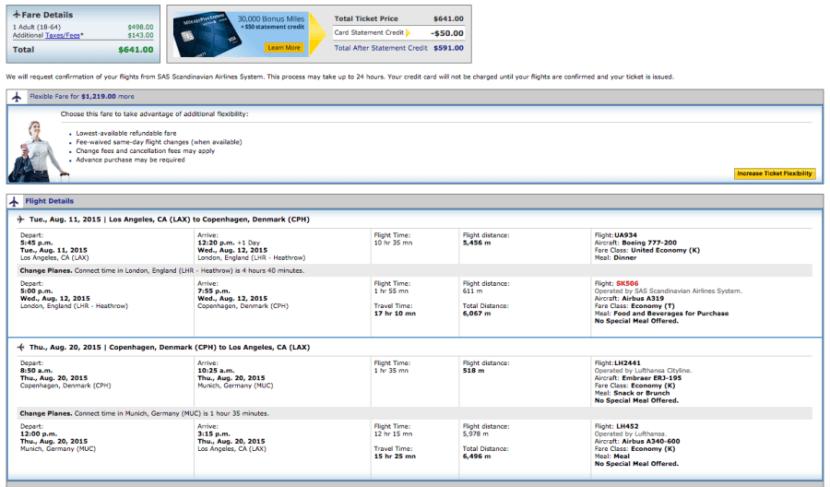 Los Angeles (LAX)-Copenhagen (CPH) for $641 on United.