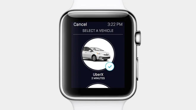 That little tap you felt on your wrist? Your ride is here.