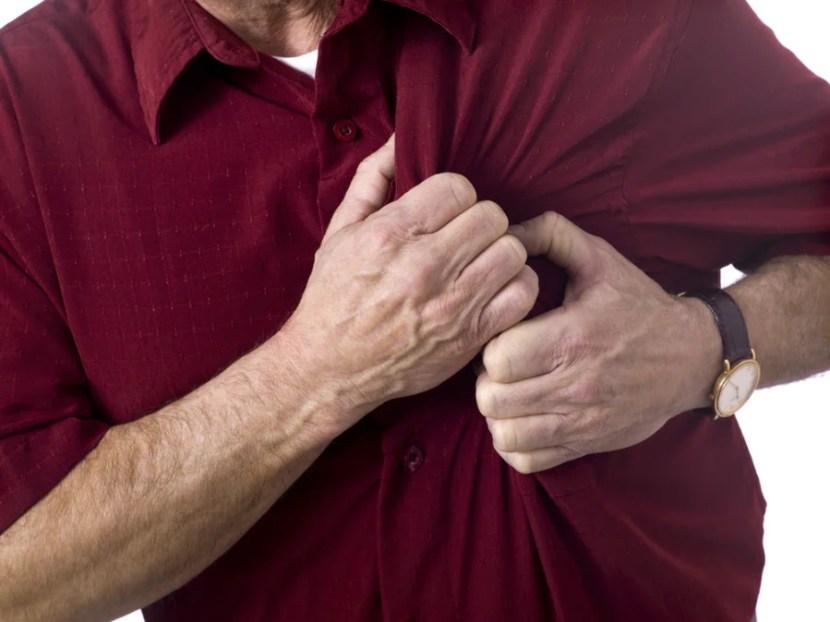 Heart Attack. Photo courtesy of Shutterstock