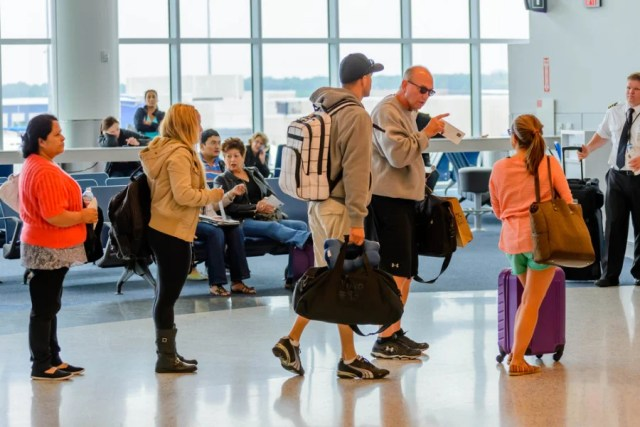 """Please take these people's bags from them, Delta. Photo courtesy of <a href=""""http://www.shutterstock.com/gallery-2288891p1.html?cr=00&pl=edit-00"""">Shutterstock</a>."""