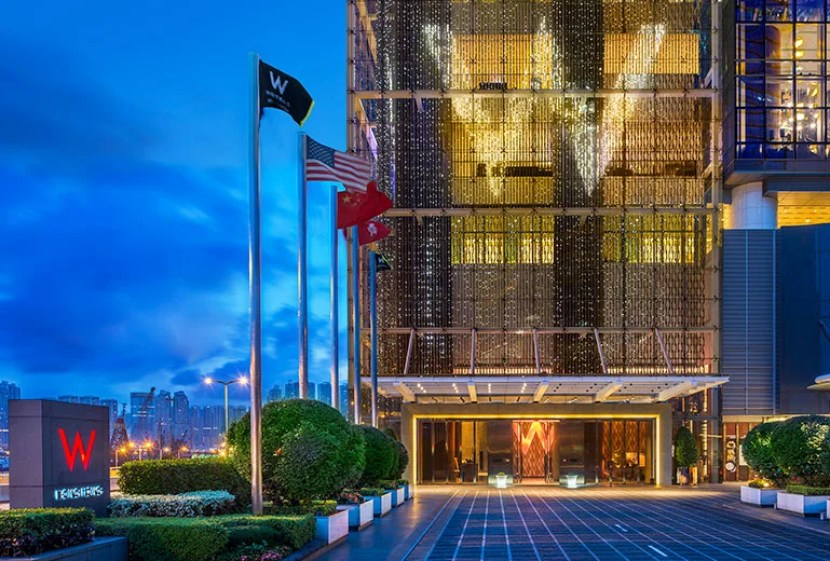 Consider staying at the W Hong Kong, a SPG category 6 property, with rooms starting at 20,000 SPG points per night.