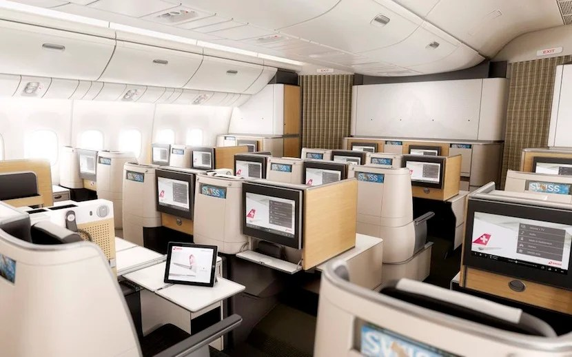 The new business-class cabin looks like a welcome improvement.