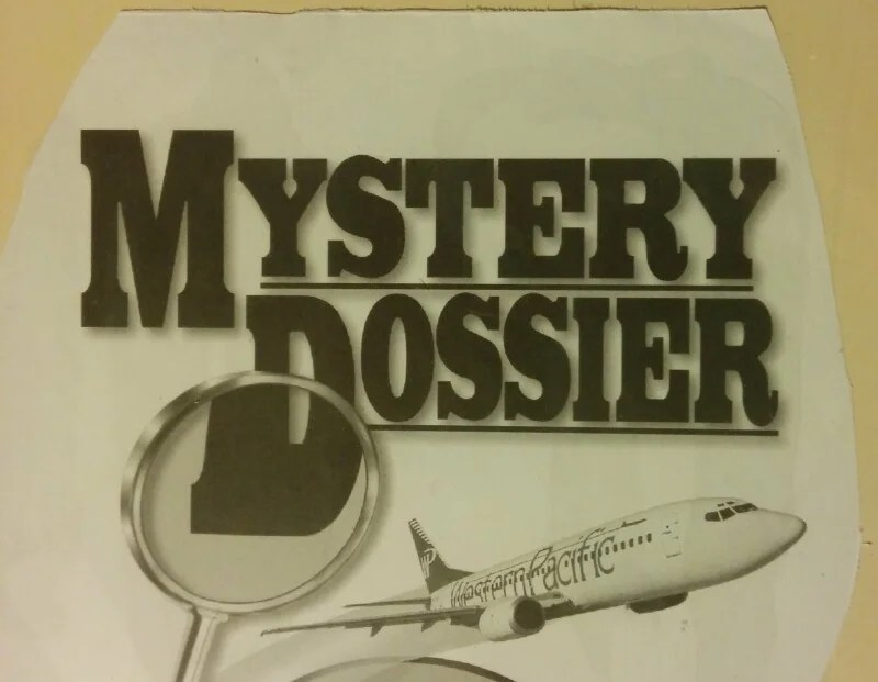The Mystery Dossier!