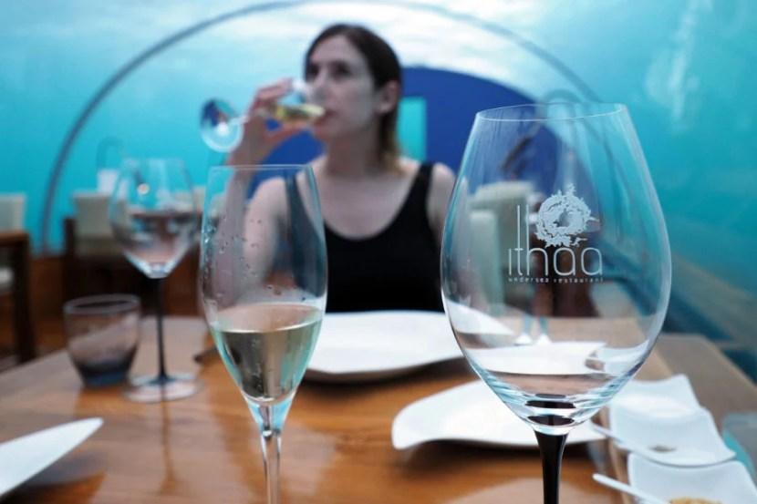 Ithaa Underwater Restaurant - Wine