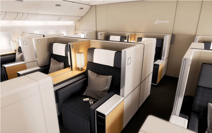 Those new first-class seats look like the old ones ... but I'm not arguing.