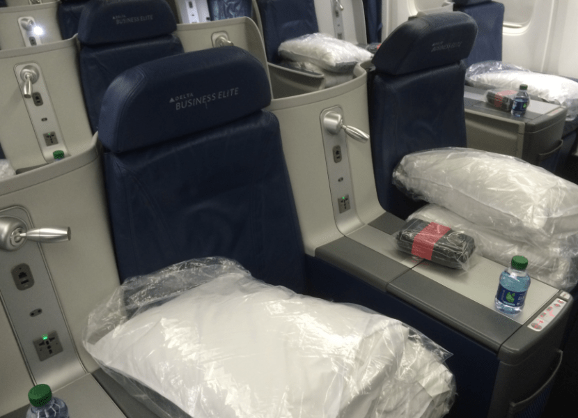 You'll now be able to use regional upgrades on Delta's transcon routes.