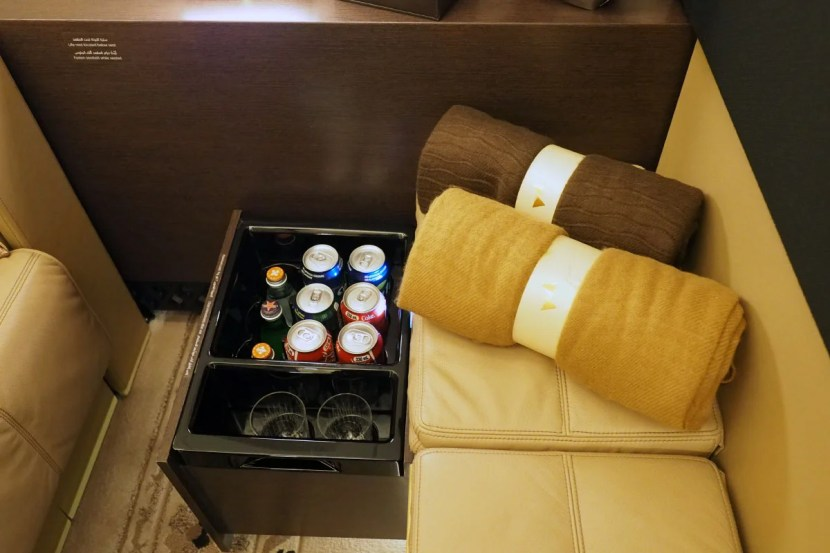 Etihad A380 The Residence - Mini-Bar