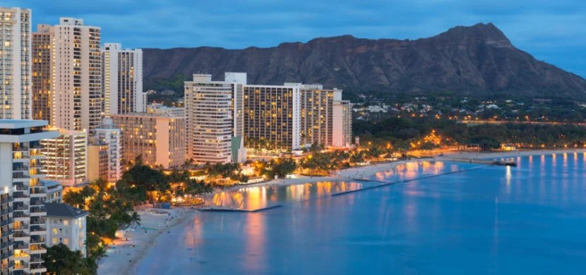 Both the DoubleTree and Hilton are just off Oahu's famous Waikiki Beach.