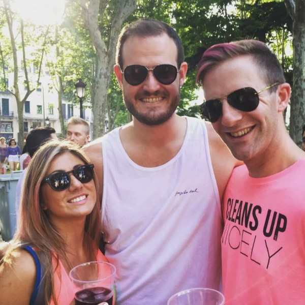 Attending Pride is fun, but to celebrate it with friends is priceless.