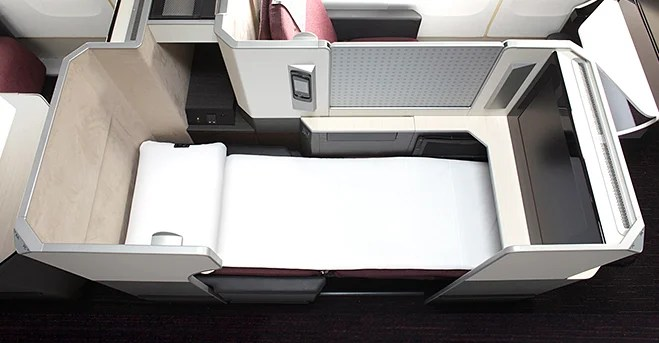 Japan Airlines Sky Suite has been the most comfortable business class seat for me.