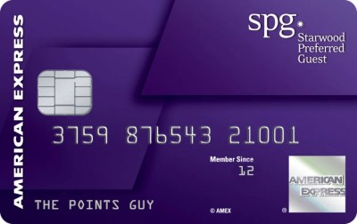 The new SPG American Express card.