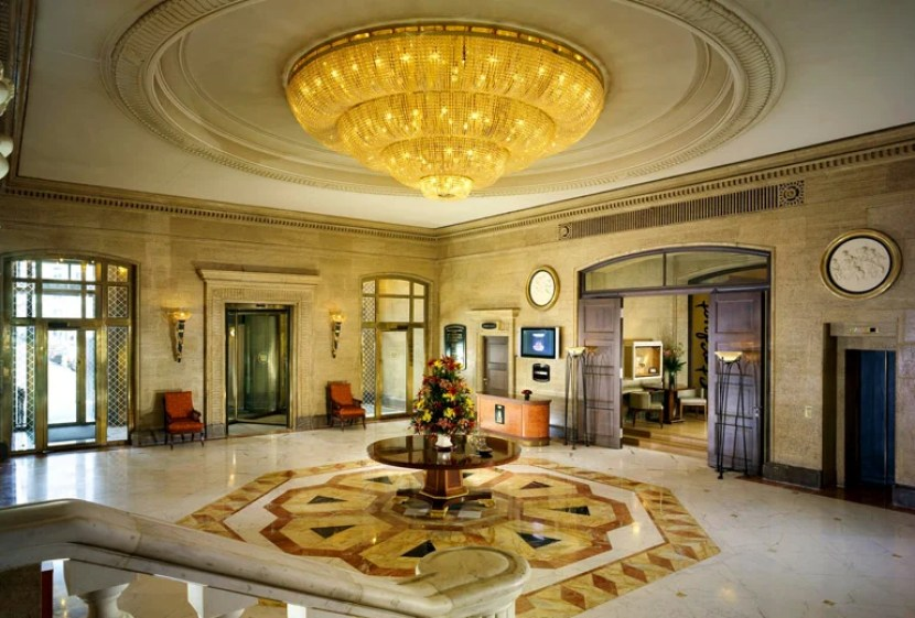 The elegant lobby of the Sofia Hotel Balkan, part of Starwood's Luxury Collection. Photo courtesy of the hotel.