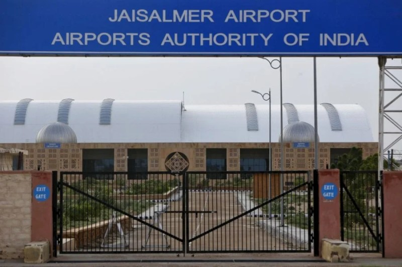 Jaisalmer Airport is one of dozens of deserted airports in India.