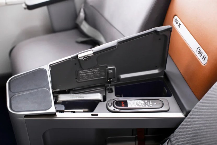 Ahhhh... that new seat smell. Photo courtesy of Lufthansa.
