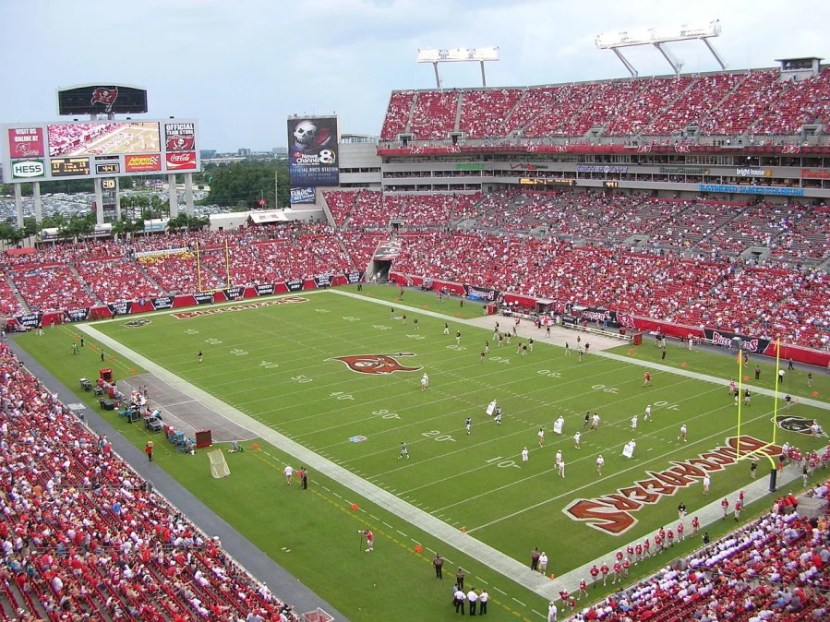 Raymond James Stadium in Tampa, Florida.