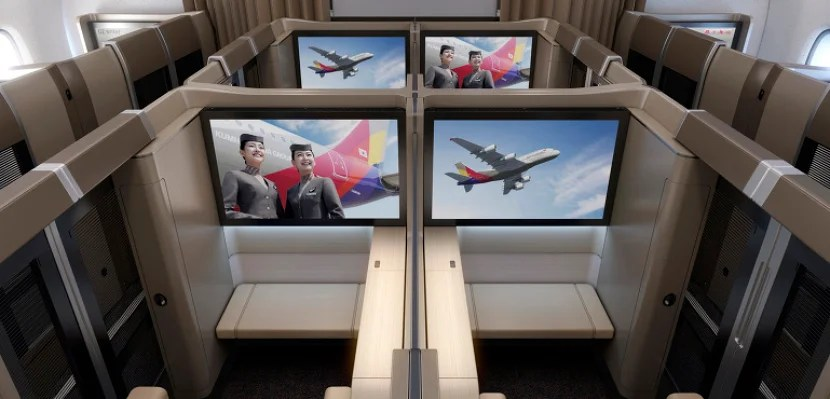 Asiana First Class Featured