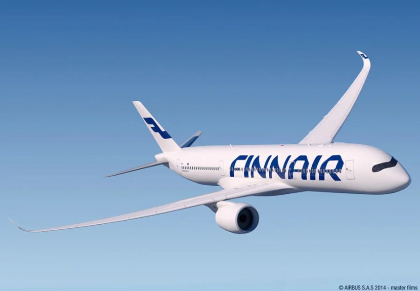 Finnair was the first European carrier to get the new jet. Image courtesy of Airbus.
