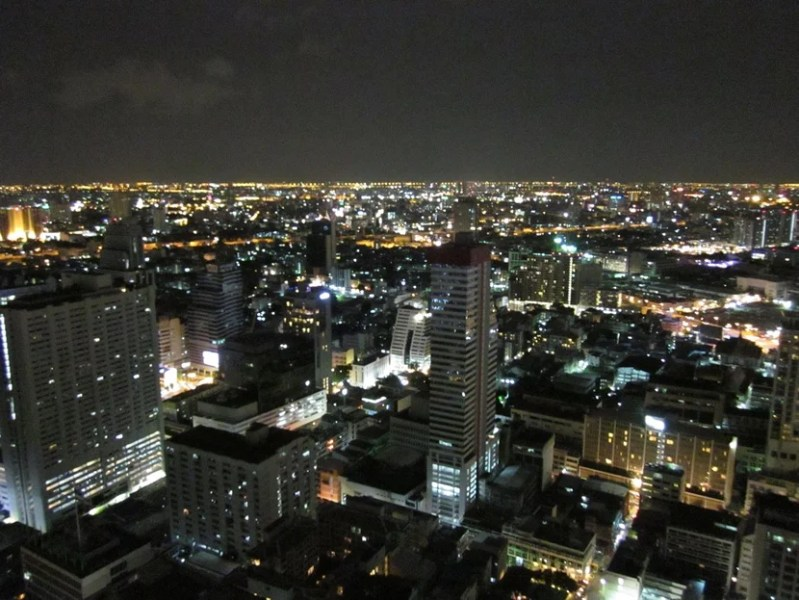 A view of Bangkok from Cloud 47