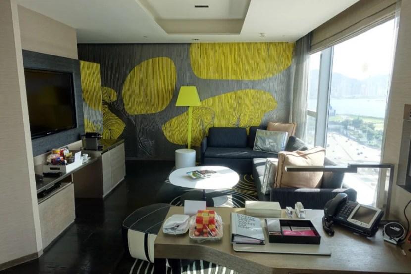 Fantastic Suite living room.