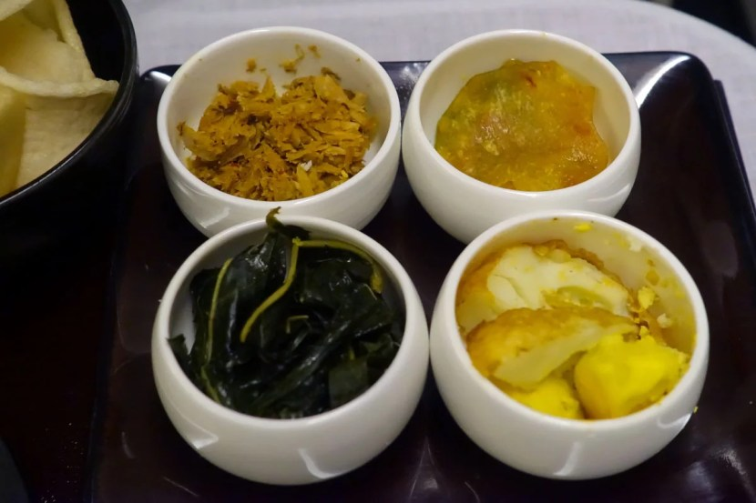 Small side dishes.