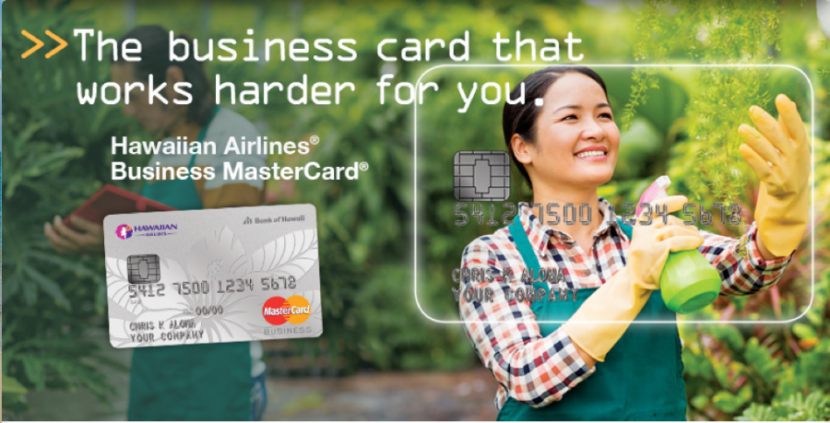 Why not let your business spending take you to Hawaii with Hawaiian Airlines' business credit card?