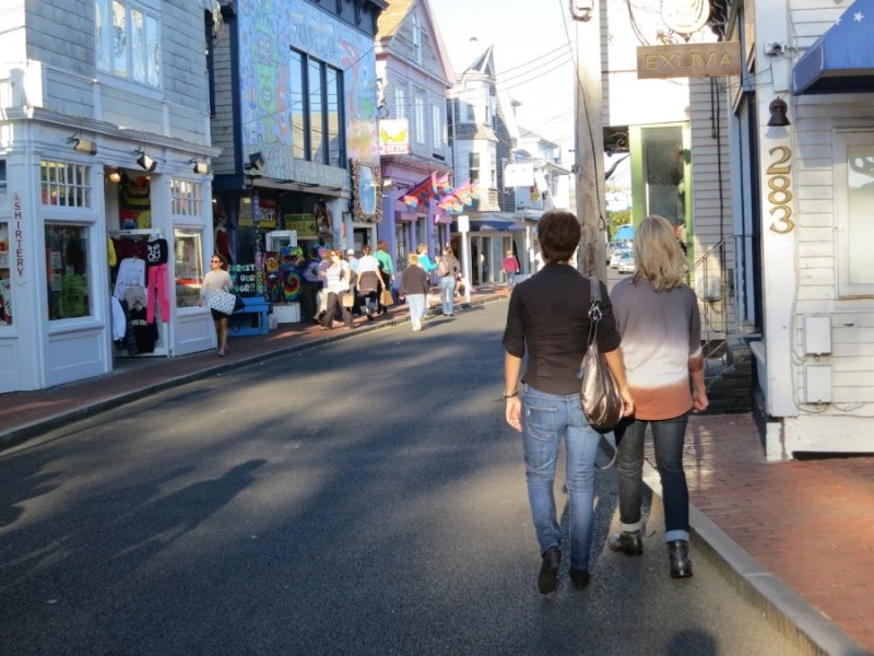 Commercial Street, Provincetown. Photo by Kelsy Chauvin.