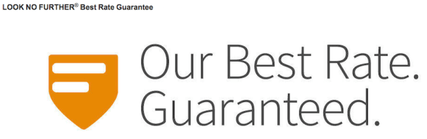 Marriott's Look No Further best rate guarantee is the most generous and easiest to be approved.