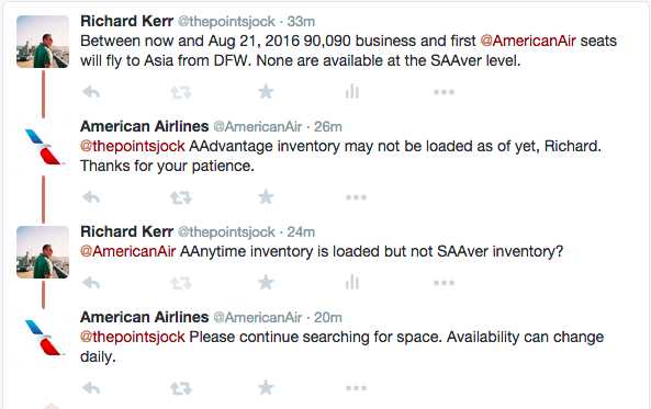 Perhaps a reader knows if AAnytime inventory can be loaded but not SAAver?