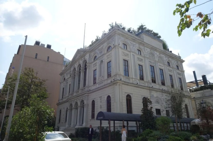 My two-level loft room was housed in a former US consulate in Istanbul, no big deal.