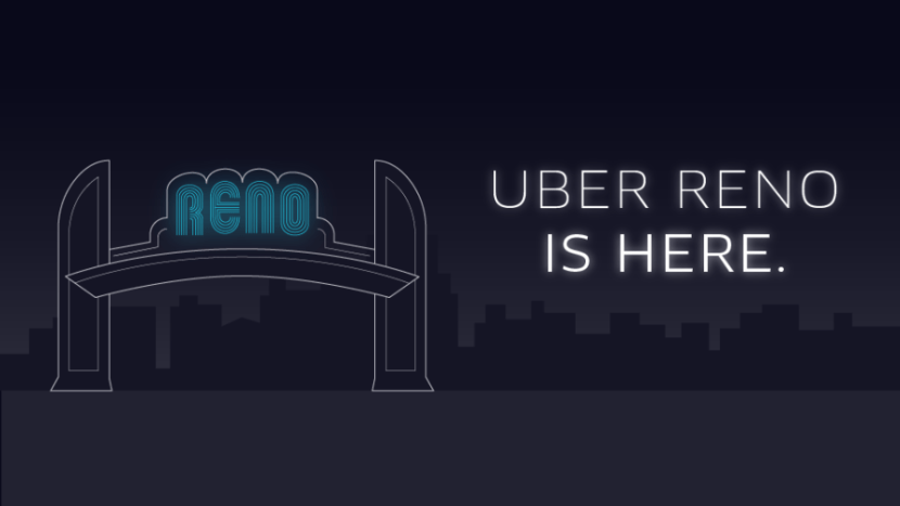 Uber Reno has also launched