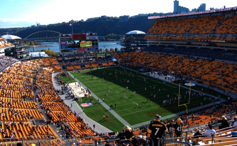 Heinz Field in Pittsburgh, Pennsylvania.