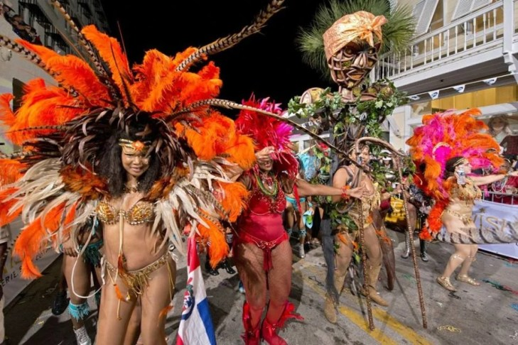 Fantasy Fest's Duval Street Parade Key west Florida Halloween