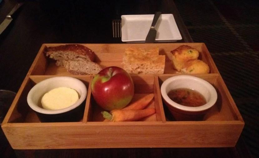 Equinox dinner bread basket