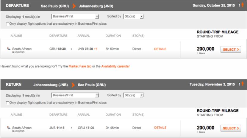 Aerplan JNB GRU new dates.