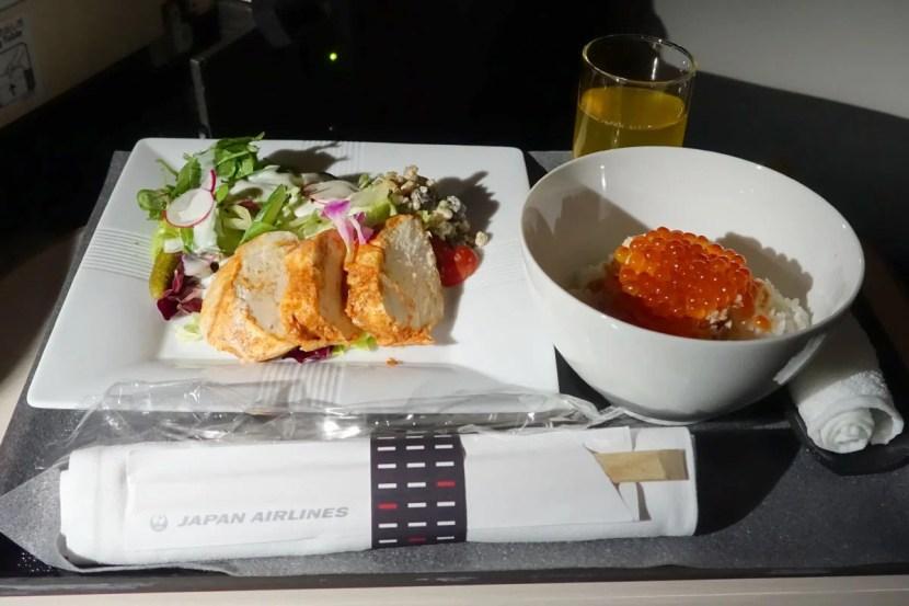 A tandoori chicken salad.
