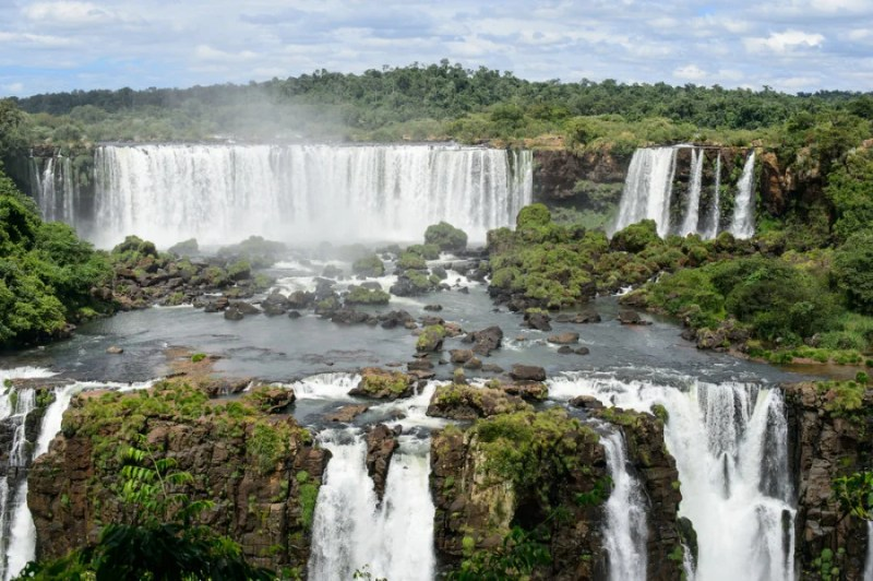 A trip to Iguazu Falls in Brazil! Photo courtesy of Shutterstock.