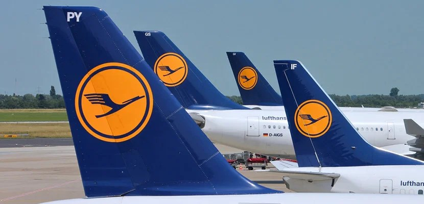 Follow along four first-class flights with Lufthansa.
