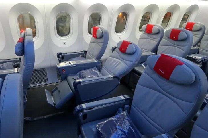 Norwegian's Premium cabin.