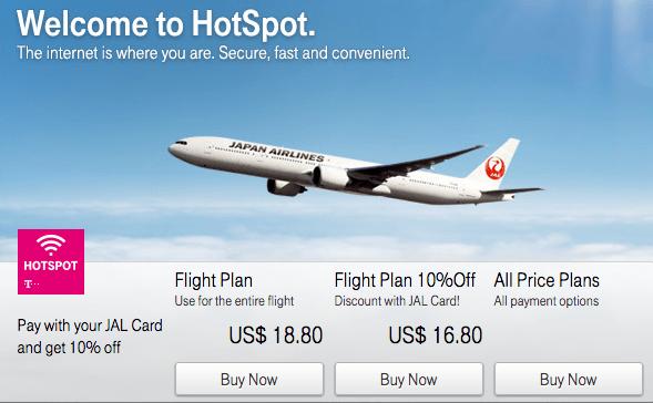 Wi-Fi pricing.