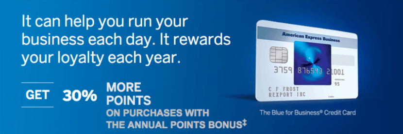 The Blue for Business Amex is offering an increased sign-up bonus!
