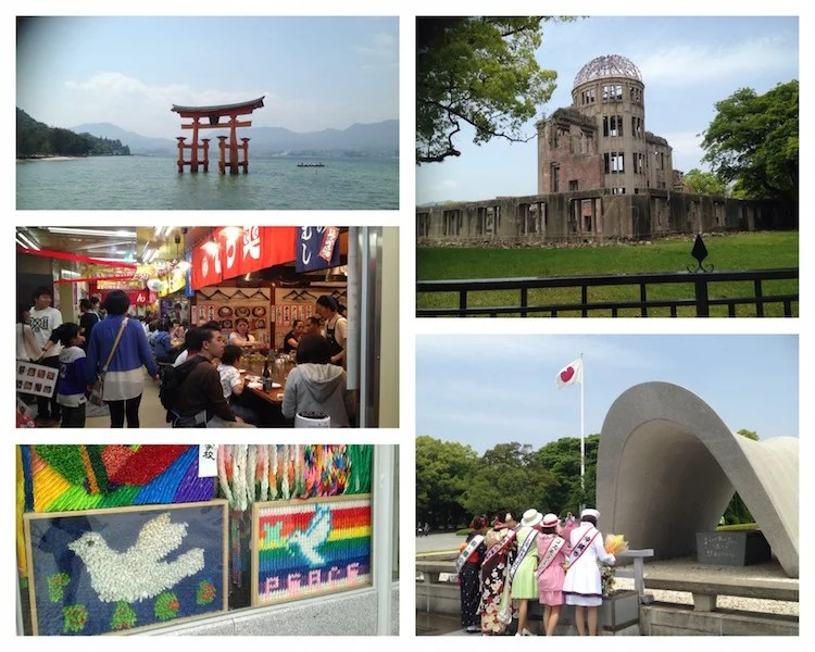 Visit Japan including Osaka and Hiroshima on 4 credit card sign-up bonuses. Photos courtesy Richard Kerr