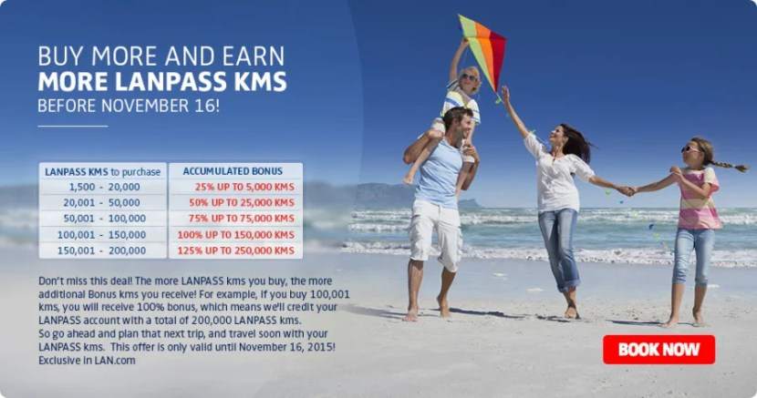 Buy LAN Kilometers with a bonus.