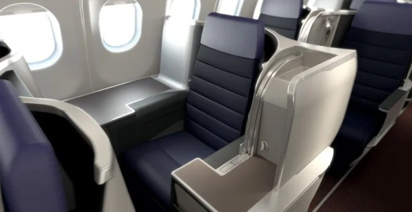 The new business class Malaysia Airlines seat