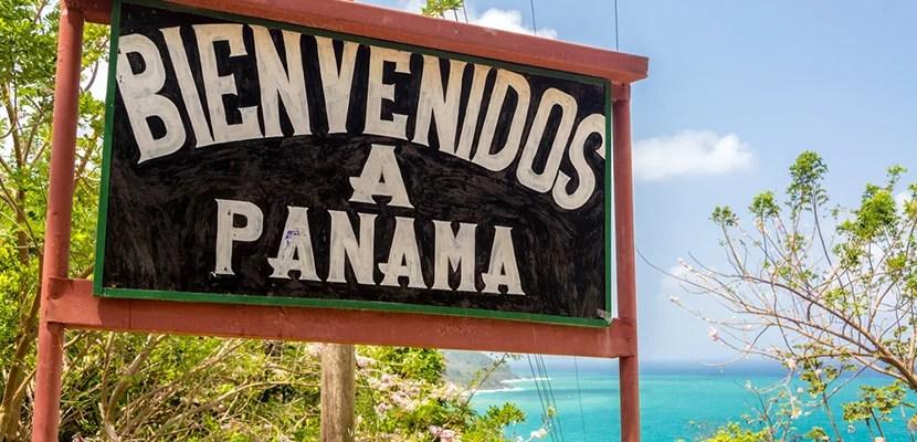 Panama-sign