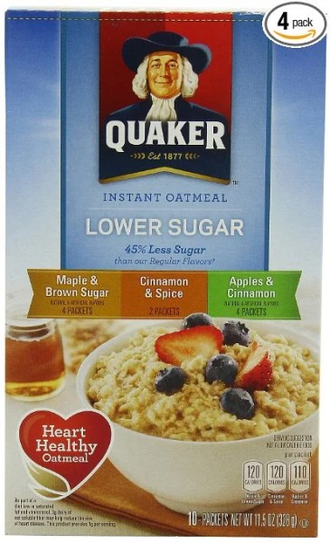 Instant Oatmeal = Instant Happiness.