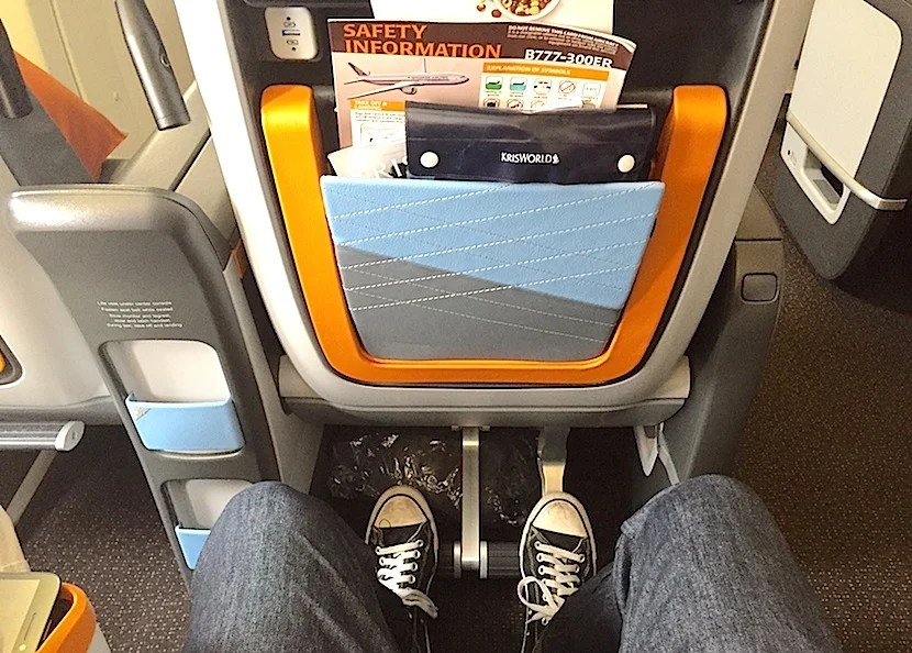 Basically, you're paying a premium for legroom.