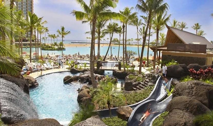 The Hilton Hawaiian Village Waikiki Beach Resort in Honolulu.