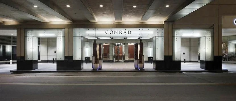 A new Conrad Chicago will open later this spring. Photo courtesy of Hilton.