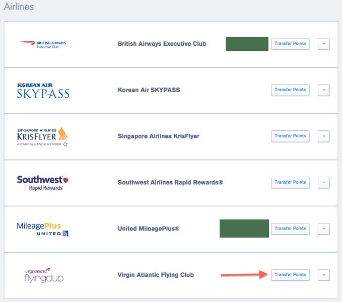 UR Airline Partners VS